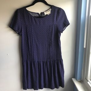 blue red tshirt dress from urban outfitters